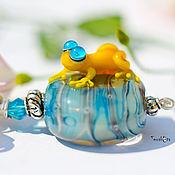 Украшения handmade. Livemaster - original item Pendant - frog