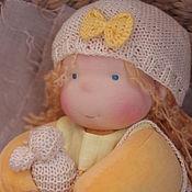 Вальдорфские куклы и звери ручной работы. Ярмарка Мастеров - ручная работа Вальдорфская кукла Тасенька 32 см. Handmade.