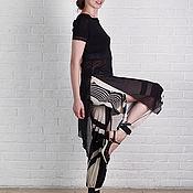 Бриджи ручной работы. Ярмарка Мастеров - ручная работа Шаровары с разрезами для танцев LAILA. Handmade.