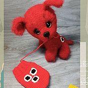 Куклы и игрушки handmade. Livemaster - original item Puppy Mitten. Handmade.