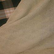Покрывало детское вязаное 3d в кроватку или коляску