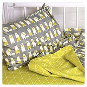 Для дома и интерьера handmade. Livemaster - original item Children`s bed linen