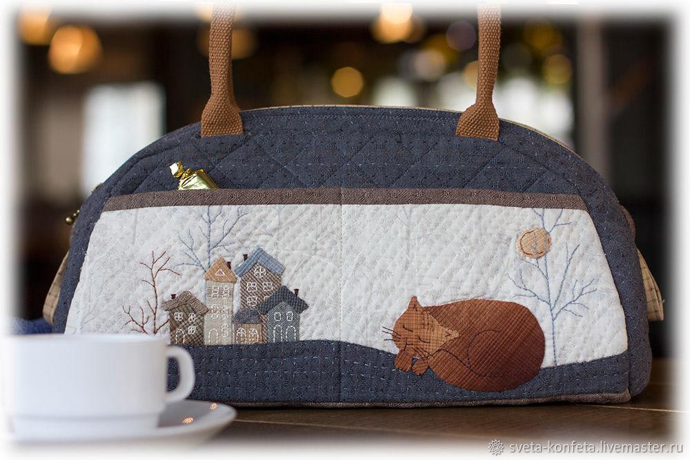 Japanese handbag Red cat, Classic Bag, Krasnoyarsk,  Фото №1