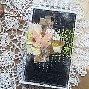 Блокноты ручной работы. Ярмарка Мастеров - ручная работа Весенний блокнот. Handmade.