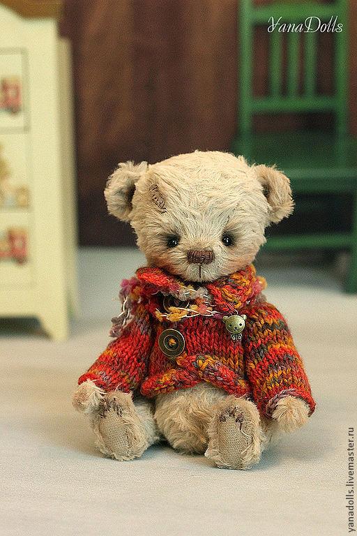 Мишки Тедди ручной работы. Ярмарка Мастеров - ручная работа. Купить Марик. Handmade. Бежевый, мишка ручной работы, опилки
