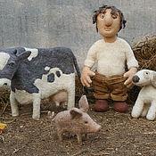 Куклы и игрушки ручной работы. Ярмарка Мастеров - ручная работа Игнатов двор. Handmade.