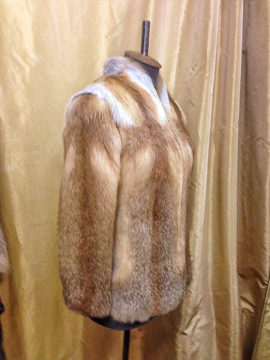 Верхняя одежда ручной работы. Ярмарка Мастеров - ручная работа. Купить Куртка - Жилет из Лисы. Handmade. Мех натуральный, куртка