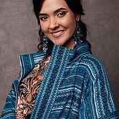 """Одежда ручной работы. Ярмарка Мастеров - ручная работа Пальто """"Бирюза"""" в традиционном стиле. Handmade."""