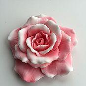 Косметика ручной работы. Ярмарка Мастеров - ручная работа Мыло розочка. Handmade.