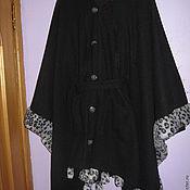Одежда ручной работы. Ярмарка Мастеров - ручная работа Пончо-пальто Зима. Handmade.