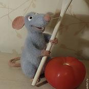 Войлочная игрушка: Поваренок Реми