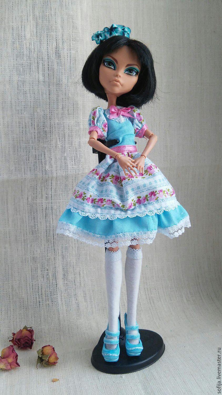 Пышное платье для куклы монстер хай