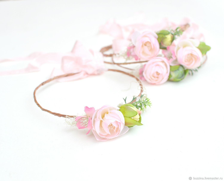 Tiaras   Headbands handmade. Livemaster - handmade. Buy A flower crown for  a photoshoot ... a9cfd0f0fc3