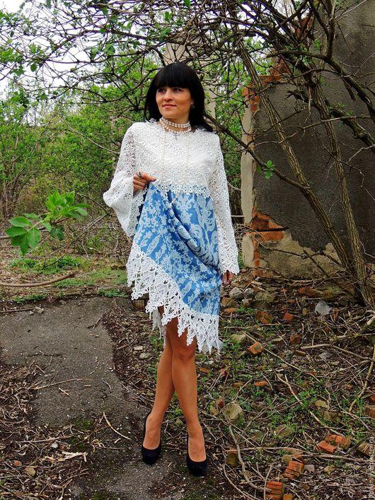 платье с кружевом, платье с вышивкой, платье повседневное, платье нарядное, платье с гипюром, платье джинсовое