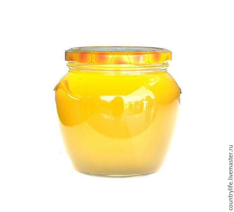 Примерно так выглядит маточное молочко в меду - баночка 250 мл