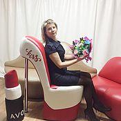 Для дома и интерьера handmade. Livemaster - original item Enlarged Louboutin Chair (Shoe) 115 cm. Handmade.