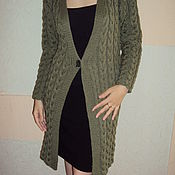 Одежда handmade. Livemaster - original item Cardigan with braids. Handmade.