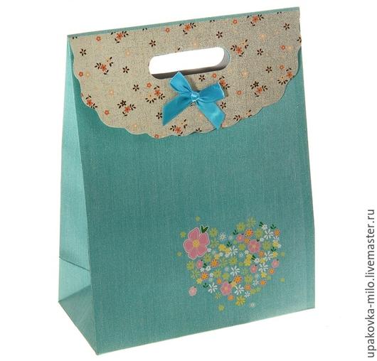 """Упаковка ручной работы. Ярмарка Мастеров - ручная работа. Купить Мини-пакет с клапаном """"Цветочный вальс"""". Handmade. Разноцветный, пакетик"""