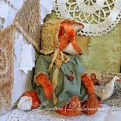 Куклы и игрушки ручной работы. Ярмарка Мастеров - ручная работа Лиса Анисья/Резерв/. Handmade.