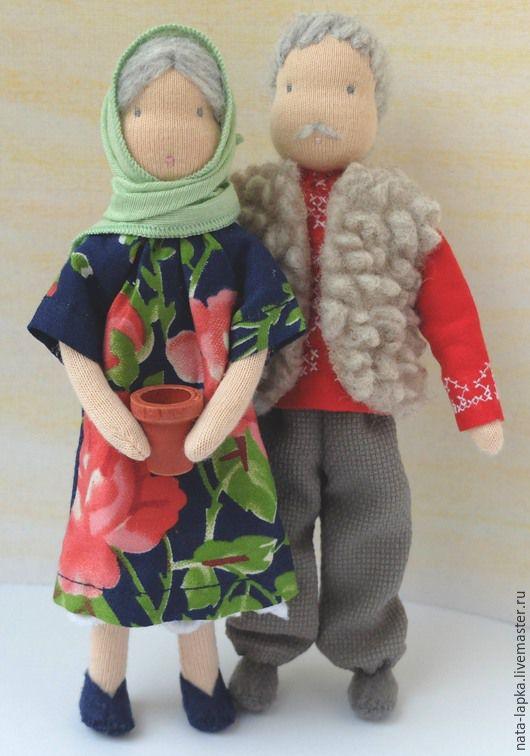 Дедуля и бабуля, Вальдорфские куклы и звери, Саров,  Фото №1