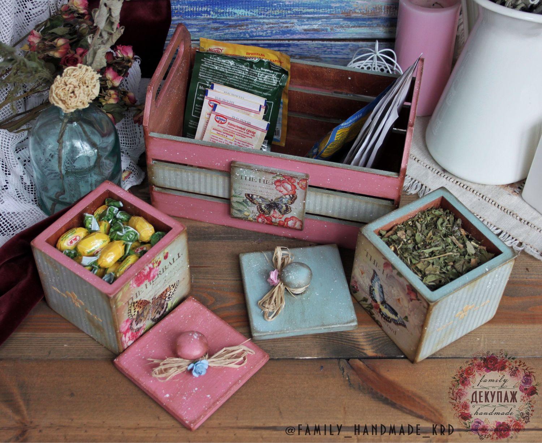 """Комплект для Кухни """"Нежный"""", ящик для хранения, короб для хранения, Короб, Краснодар,  Фото №1"""