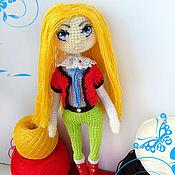 Куклы и игрушки ручной работы. Ярмарка Мастеров - ручная работа Кукляшка Элька. Handmade.