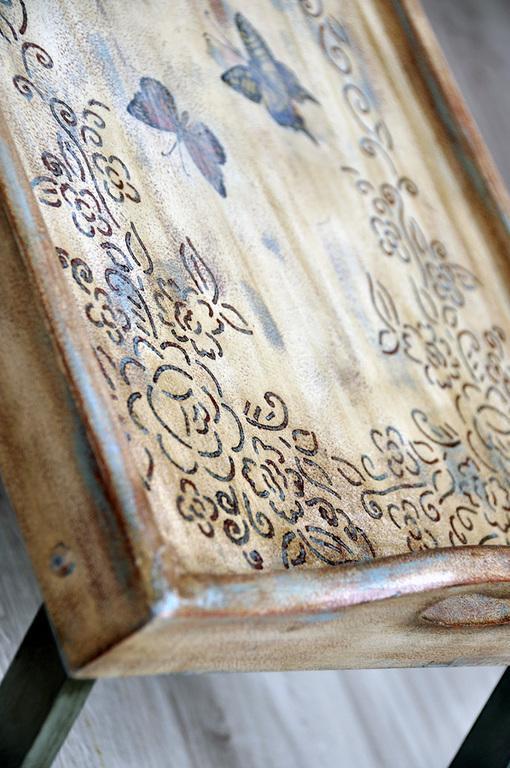 Мебель ручной работы. Ярмарка Мастеров - ручная работа. Купить Столик для завтрака. Handmade. Разноцветный, подарок девушке, стол