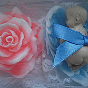 Свадебный салон handmade. Livemaster - original item A wedding gift, Newborn gift -wedding gift set. Handmade.
