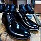 Обувь ручной работы. Туфли мужские лаковые. Антон Ан (am-anisimov). Интернет-магазин Ярмарка Мастеров. Красивая обувь