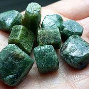 Материалы для творчества handmade. Livemaster - original item Sapphire (green corundum )conditions: the island of Madagascar. Handmade.