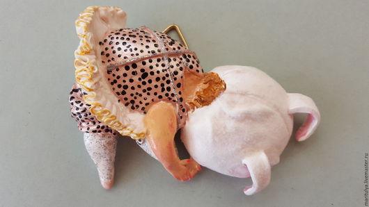 Статуэтки ручной работы. Ярмарка Мастеров - ручная работа. Купить Настенное украшение Балеринка на разминке. Handmade. Комбинированный, пачка