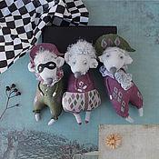 Куклы и игрушки handmade. Livemaster - original item Mouse Comedians. Set of 3 PCs.. Handmade.