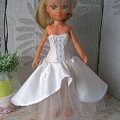 Куклы и игрушки ручной работы. Ярмарка Мастеров - ручная работа Свадебный наряд для куклы Нэнси. Handmade.