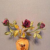 Цветы ручной работы. Ярмарка Мастеров - ручная работа Цветы интерьерные. Handmade.