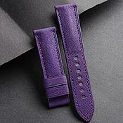 Украшения handmade. Livemaster - original item Calf leather watchband (40). Handmade.
