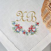 """Для дома и интерьера ручной работы. Ярмарка Мастеров - ручная работа Пасхальная салфетка """"Добрые традиции"""". Handmade."""