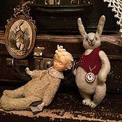 Куклы и игрушки ручной работы. Ярмарка Мастеров - ручная работа Alice in Wonderland. Handmade.
