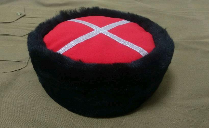 Kubanka Cossack from black Mouton, Caps, Krasnodar,  Фото №1