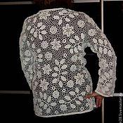 """Одежда ручной работы. Ярмарка Мастеров - ручная работа Жакет """"Рапсодия"""". Handmade."""