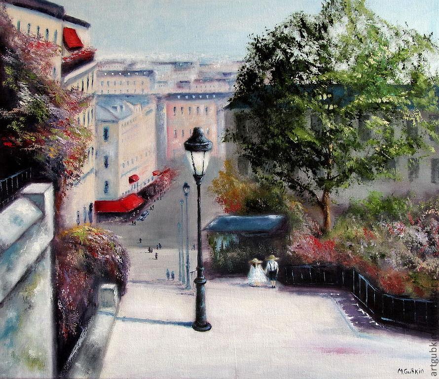 Париж (2), Картины, Москва,  Фото №1