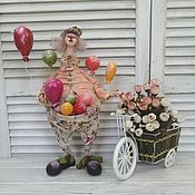 Куклы и игрушки handmade. Livemaster - original item Interior doll, collectible
