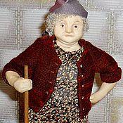 Куклы и игрушки ручной работы. Ярмарка Мастеров - ручная работа Кукла Бабка с тряпкой.. Handmade.