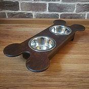 Подставки для мисок ручной работы. Ярмарка Мастеров - ручная работа Подставка под миски. Handmade.