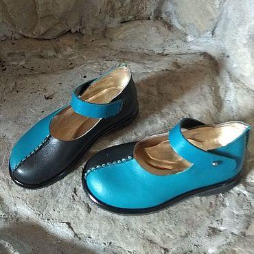 Обувь ручной работы. Ярмарка Мастеров - ручная работа Туфли бохо. Handmade.