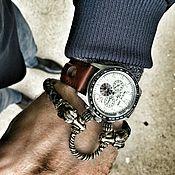 Украшения handmade. Livemaster - original item The genuine leather bracelet Taurus. Handmade.