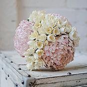 Свадебный салон ручной работы. Ярмарка Мастеров - ручная работа Букет невесты с пионами. Handmade.