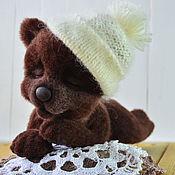 Куклы и игрушки ручной работы. Ярмарка Мастеров - ручная работа Медвежонок сплюшка. Handmade.