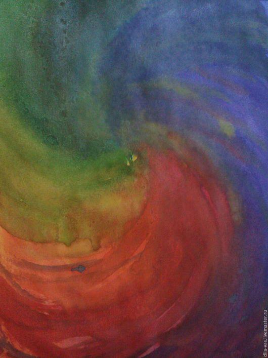 Абстракция ручной работы. Ярмарка Мастеров - ручная работа. Купить Картина акварелью.Феникс. Handmade. Абстракция, рисунок, Живопись, краски