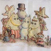 Картины и панно ручной работы. Ярмарка Мастеров - ручная работа Муми-тролли и все. Handmade.