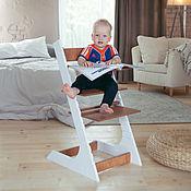 Для дома и интерьера handmade. Livemaster - original item Furniture: Growing chair-walnut and white. Handmade.